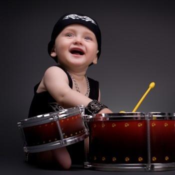 Dziecko nauka muzyki